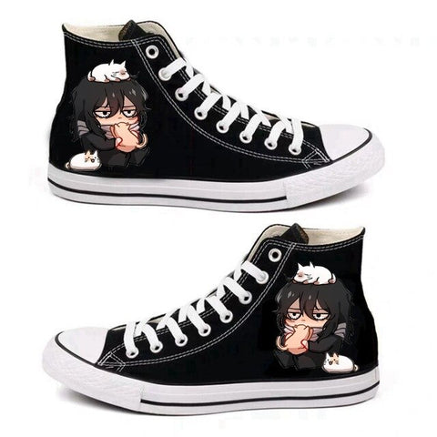 BNHA Shoes Aizawa (Black)