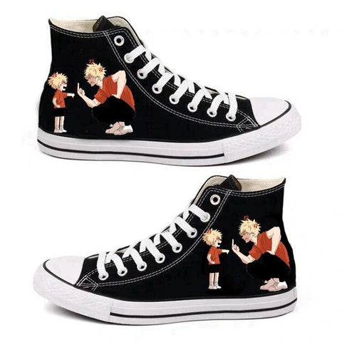BNHA Shoes Bakugo Parents (Black)