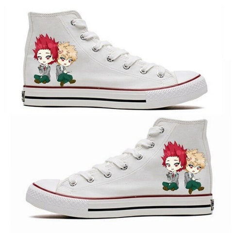 BNHA Shoes Eijiro and Bakugo