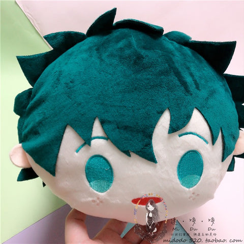 deku plush pillow