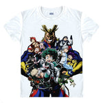 my hero academia avengers shirt