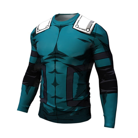 deku compression shirt