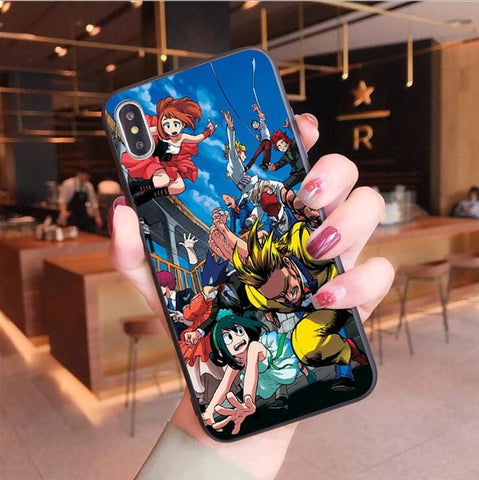 My Hero Academia iPhone Case U.A. Marathon