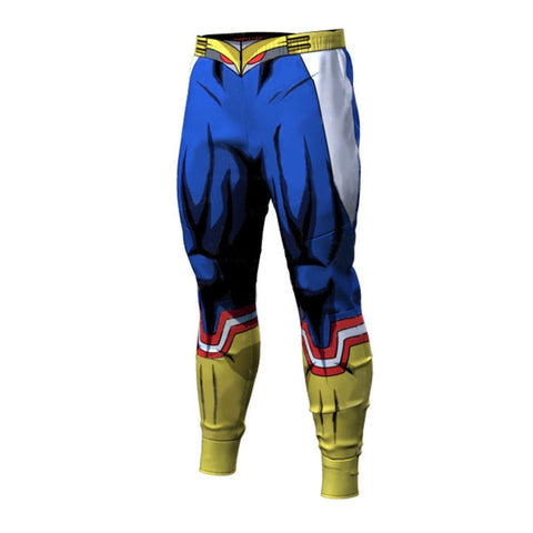 all might gym pants