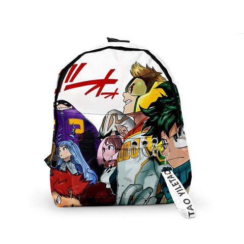 My Hero Academia Backpack Heroes vs Yakuzas