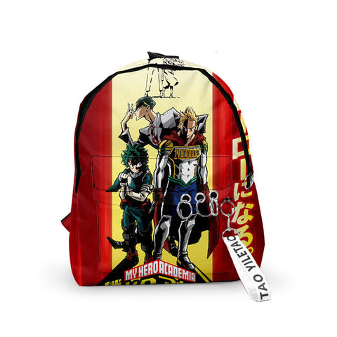 my hero academia small backpack