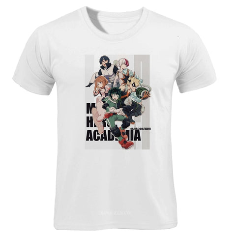 My Hero Academia T-Shirt New Heroes