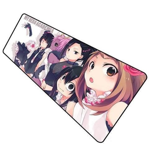 boob my hero academia mouse pad