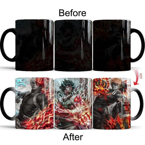 my hero academia coffee mug