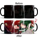 my hero academia heat changing mug