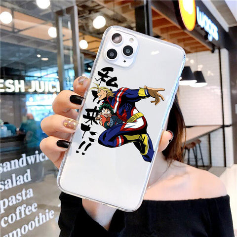 My Hero Academia iPhone Case Young All Might