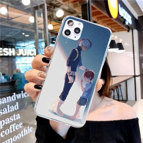 My Hero Academia iPhone Case Shoto's Past