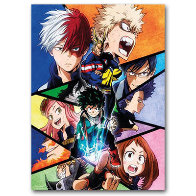 Boku No Hero Academia Poster Season 2