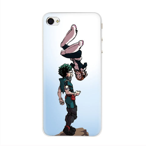My Hero Academia iPhone Case Midoriya and Uraraka