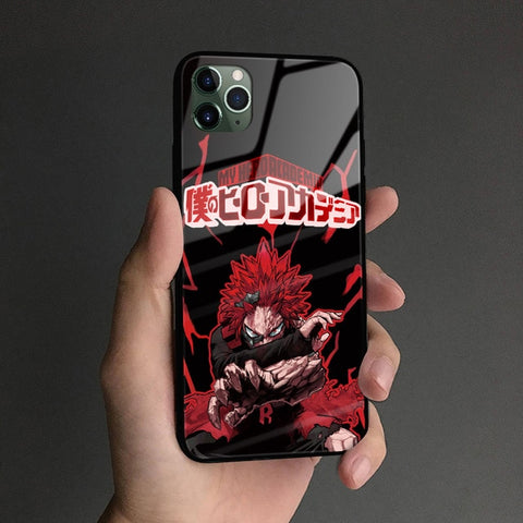 My Hero Academia iPhone Case Red Riot Unbreakable