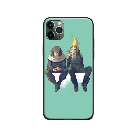My Hero Academia iPhone Case Aizawa and Hizachi