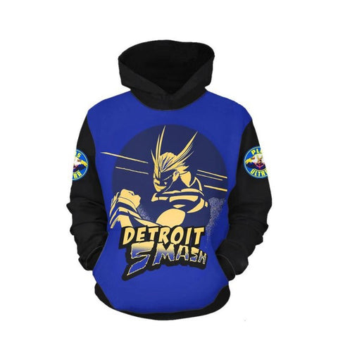 all might cosplay hoodie