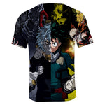 my hero academia villains shirt