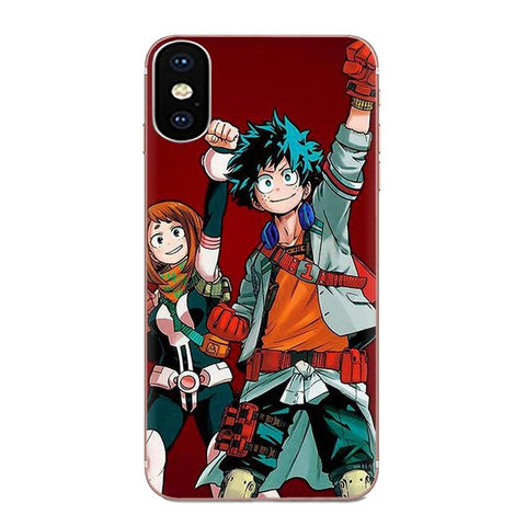 My Hero Academia Sony Case Izuku and Ochaco