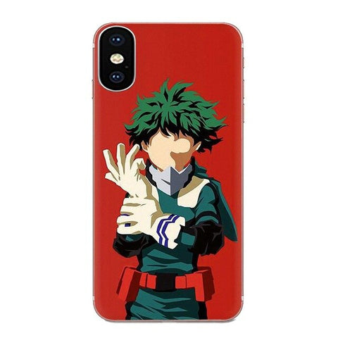 My Hero Academia Sony Case Midoriya Vector