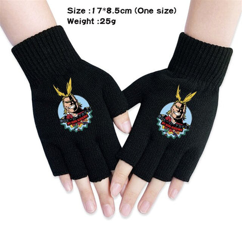 mha all might gloves