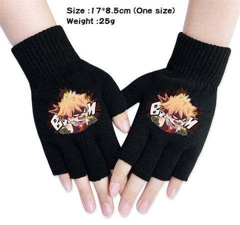 my hero academia bakugou gloves