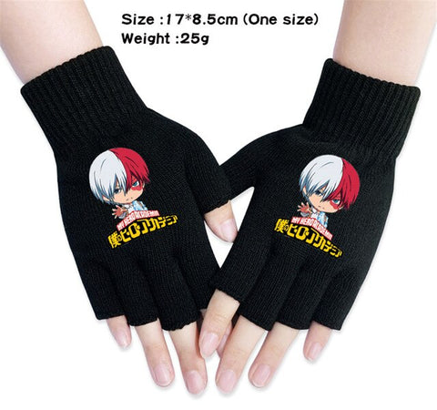 my hero academia shoto gloves