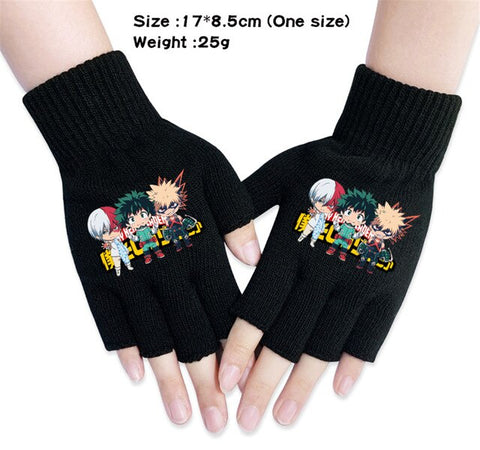shoto fingerless gloves