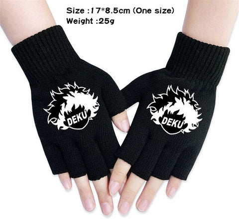 my hero academia deku gloves