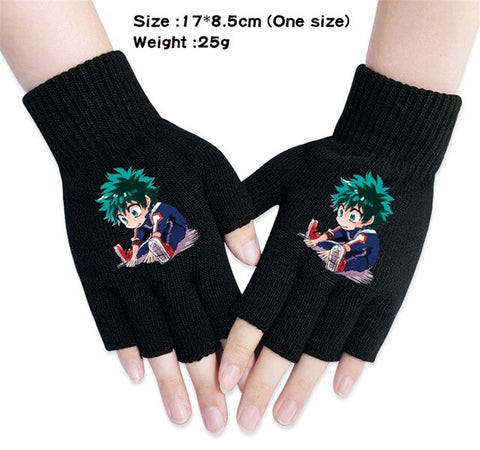 my hero academia midoriya gloves