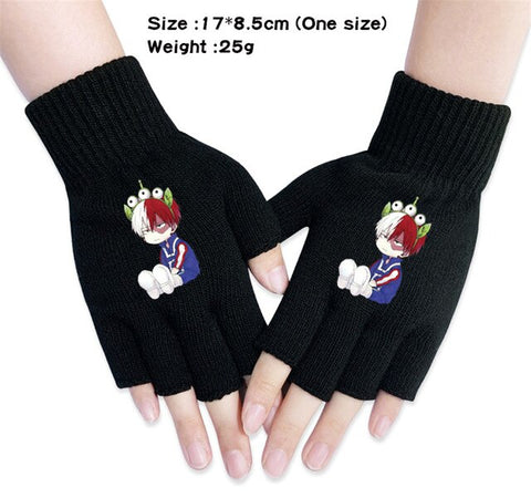 shoto todoroki gloves