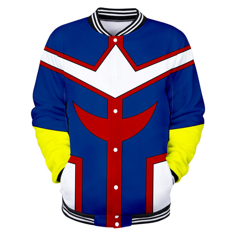 all might varsity jacket