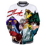 anime mha varsity jacket