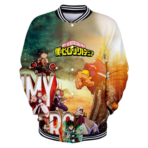 my hero varsity jacket