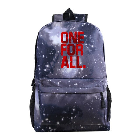 one for all school bag