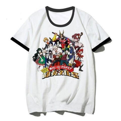 anime shirts my hero academia