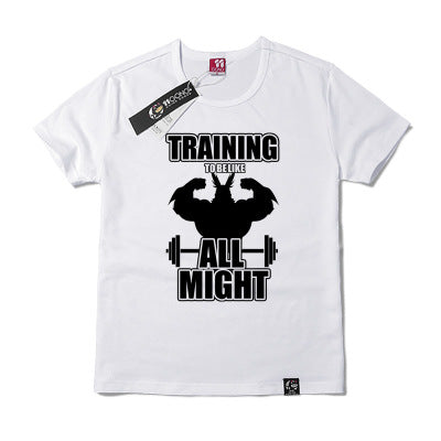 training to be all might shirt