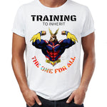 training to Inherit the One For All shirt