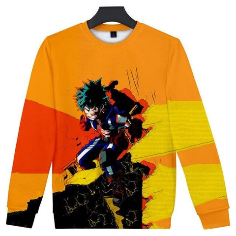 deku my hero academia sweatshirt