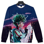 my hero academia midoriya shirt long sleeve