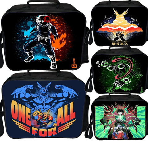 my hero academia lunch bag
