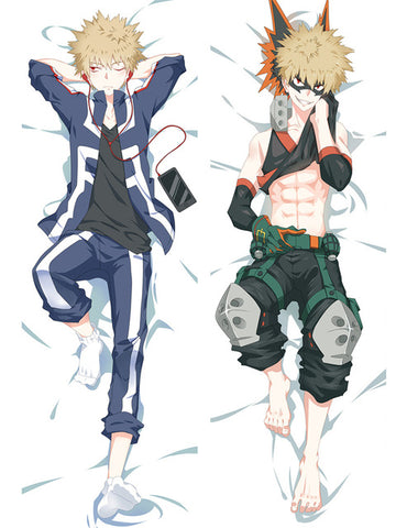 bakugo body pillow case