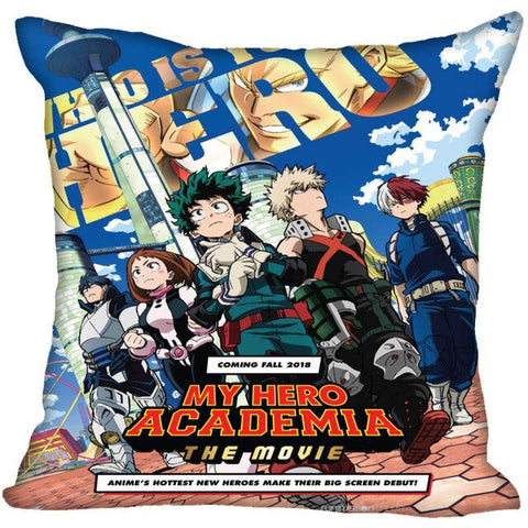 my hero academia movie pillow