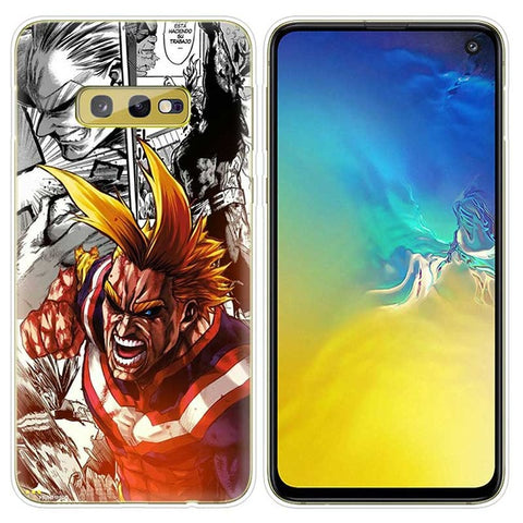 My Hero Academia Samsung Case All Might Smash