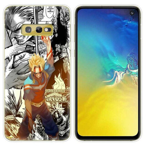My Hero Academia Samsung Case All Might vs All For One