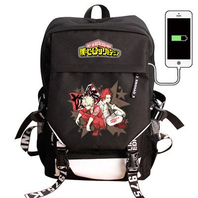 My Hero Academia Backpack Bakugo and Eijiro