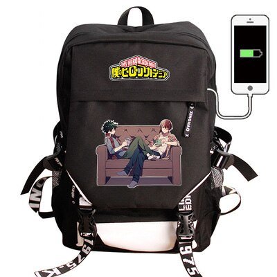 My Hero Academia Backpack Deku and Shoto