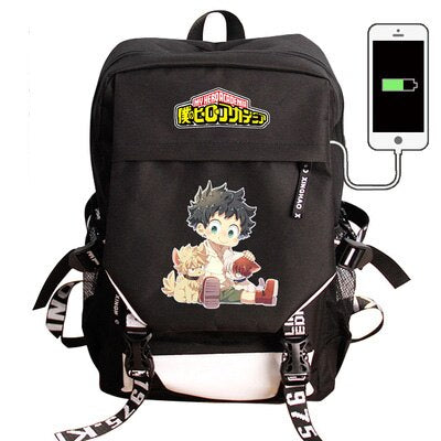 My Hero Academia Backpack Kid Deku