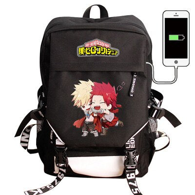 My Hero Academia Backpack Katchan and Kirishima