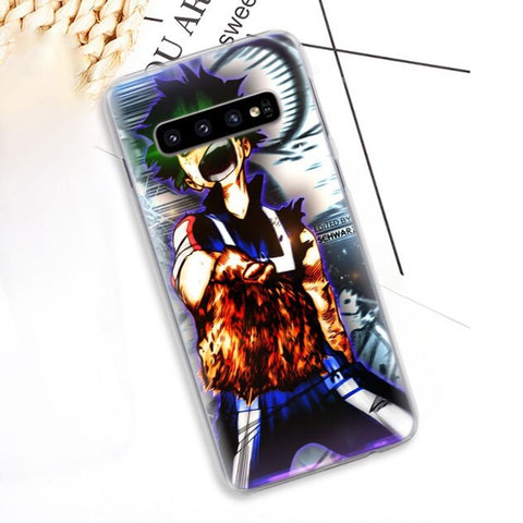 My Hero Academia Samsung Case Midoriya vs Shoto